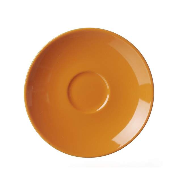 FLIRT by R&B Espresso-Untertasse Doppio 12cm orange